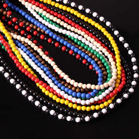 wooden bead necklace hip hop buy wholesale wood necklace from china