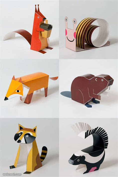 Paper Animals - 30 creative and beautiful paper sculptures by calvin nicholls