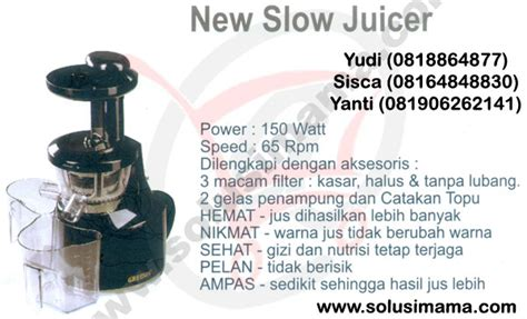 Signora Electric Grill solusi new juicer