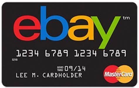 ebay mastercard review ebay credit card credit card catalog
