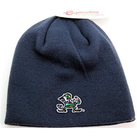 notre dame knit hat ncaa notre dame fighting knit beanie hat navy