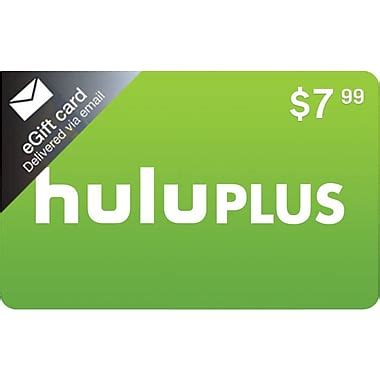 Buy Hulu Gift Card - hulu 1 month gift card 7 99 email delivery staples 174