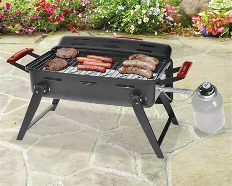Joffs Backyard Grill by 25 For 17 Quot Portable Gas Backyard Grill Buytopia