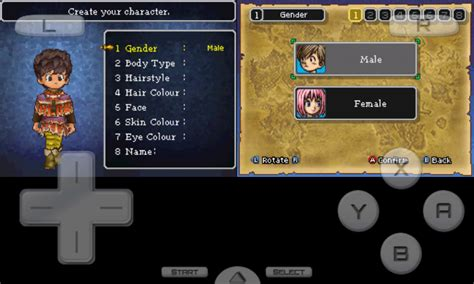 game membuat karakter android dragon quest ix sentinels of the starry skies review