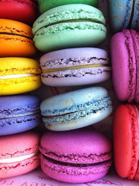 stack of colorful macaroons pictures photos and images