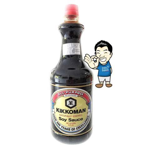 Kikkoman Kecap kikkoman soy sauce shoyu premium kecap jepang 1 6l