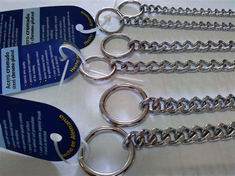 cadenas de castigo alemanas para perros collar de castigo aleman 340 00 en mercado libre
