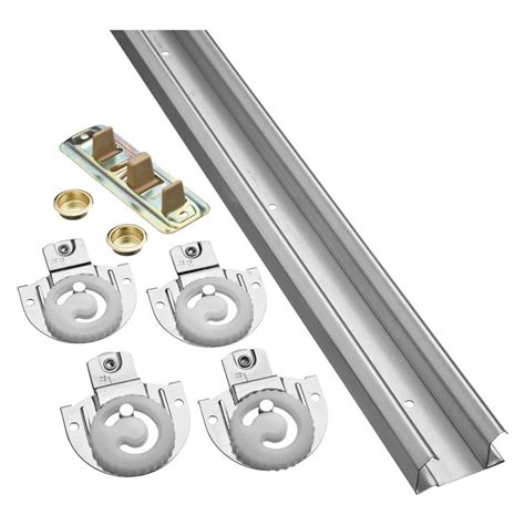 Bifold Closet Door Hardware Kit Stanley National Hardware Bpd60 00 72 In Bi Pass Door Sliding Closet Door Track Kit Lowe S Canada