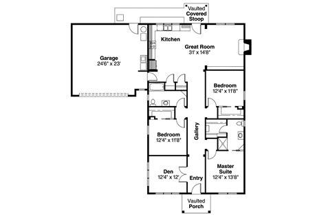 house floor plans craftsman house plans 30 480 associated designs