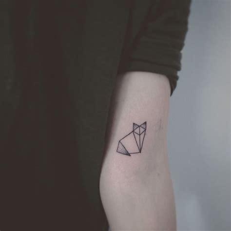 Origami Tattoos - origami cat milena kirsche tattoos origami
