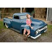 Find Used 1954 Ford F100 Chopped Top Lead Sled Rat Rod Custom Hot
