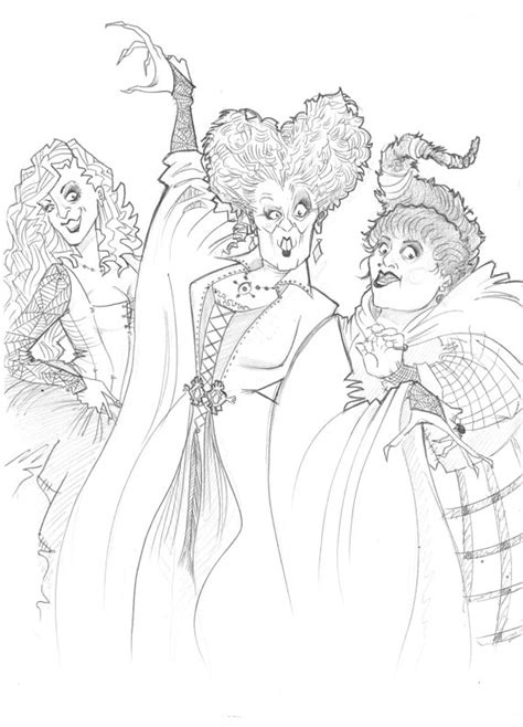 hocus pocus coloring pages coloring pages