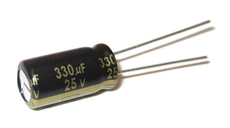 what is a capacitor for 330uf 25v aluminum capacitor radial