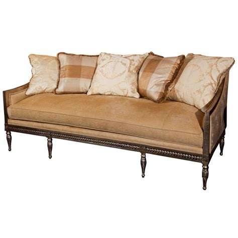french sofa styles french directoire style sofa at 1stdibs