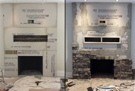 fireplace veneer installation veneer fireplace installation fireplace design ideas