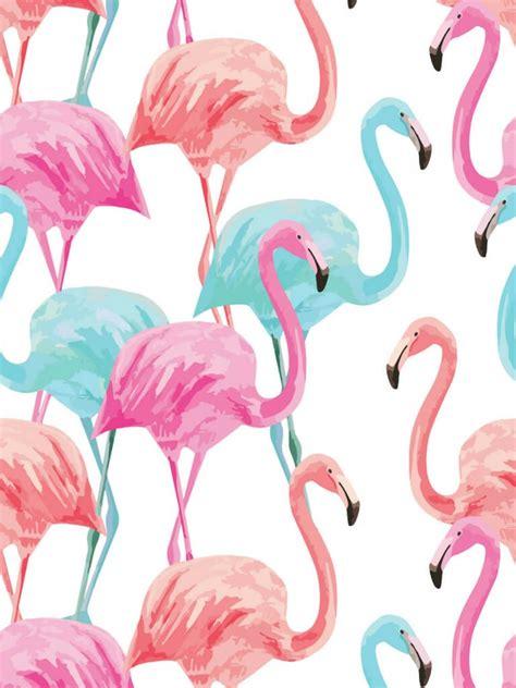 flamingo wallpaper sle pink flamingos designer s hand