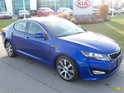 Blue Kia 2012 Corsa Blue Kia Optima Sx 57355465 Photo 4
