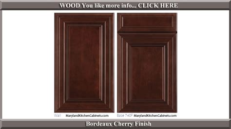 740 cherry cabinet door styles and finishes maryland