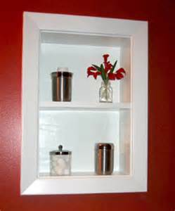 in wall bathroom shelves uncover space make recessed shelves in your bathroom