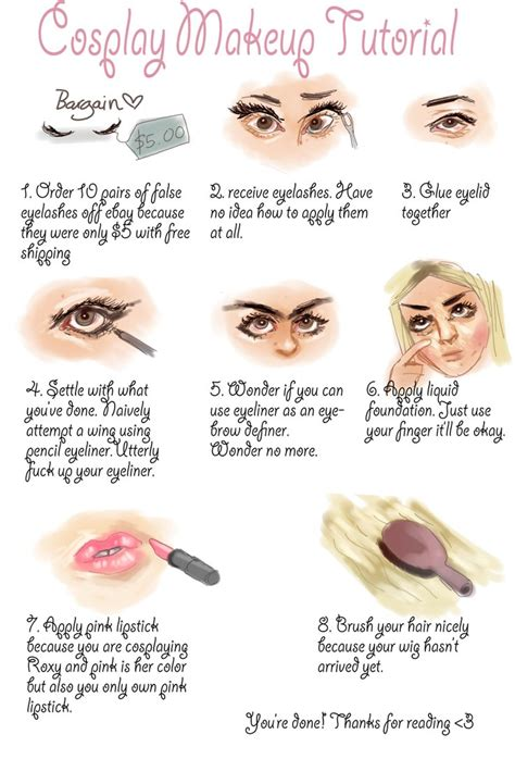 Tutorial Professional Makeup Techniques 3 by Makeup Tutorial By Areyouonfireyet On Deviantart