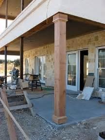 patio posts 17 best ideas about porch columns on front