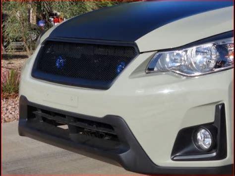 subaru crosstrek front bumper subaru crosstrek hella horn pair install front bumper