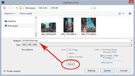 pasar imagenes tiff a pdf 191 en qu 233 formato guardar nuestras fotograf 237 as archivos