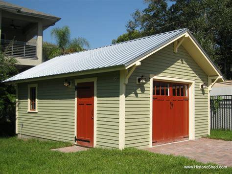 car bungalow garage historic shed florida