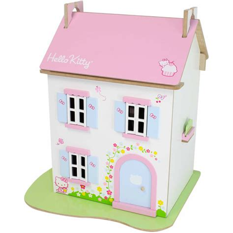 hello kitty doll house hello kitty cupcake cottage dollhouse walmart com