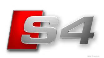 Audi S4 Logo Does Anyone An Rs4 Version Of This Logo Or Can You
