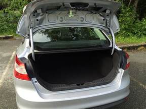 Ford Focus Trunk Space Review 2013 Ford Focus Sedan