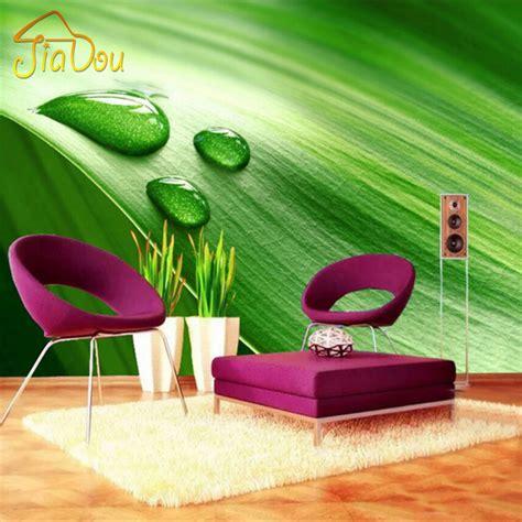 Plakat Fiber Daun Hijau hijau 3d wallpaper beli murah hijau 3d wallpaper lots from china hijau 3d wallpaper suppliers on