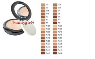 mac foundation color chart mac cosmetics studio fix powder plus foundation color ebay
