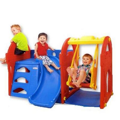 fisher price swing and slide haenim play centre playground swing slide climber