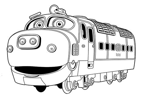 chuggington coloring pages chuggington coloring pages brewster for printable