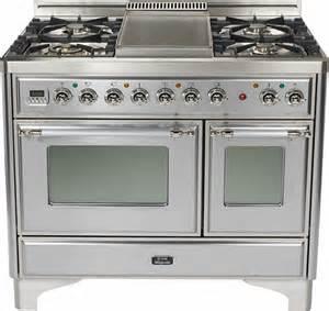 ilve gas cooktop umd100sdmpix ilve 40 quot 4 burner dual fuel range with coup