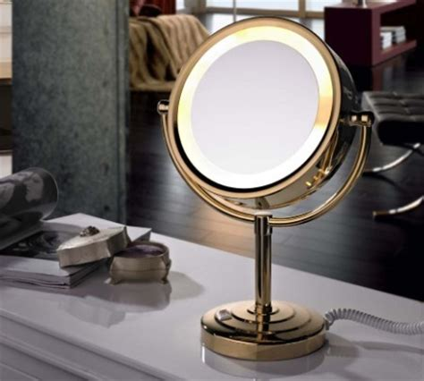 makeup mirror stand with lights best lighted make up mirror a very cozy home
