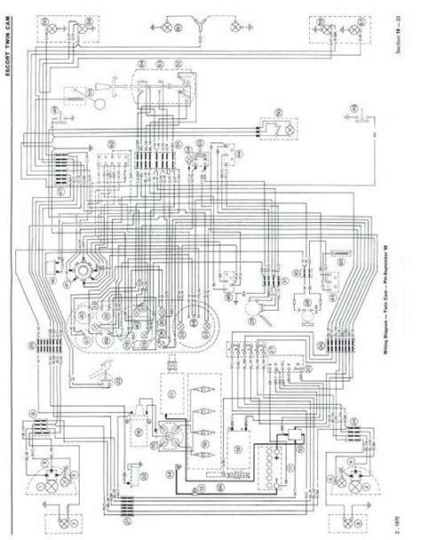 twin cam mk1 escort wiring diagrams pre sep 69 avo ebay