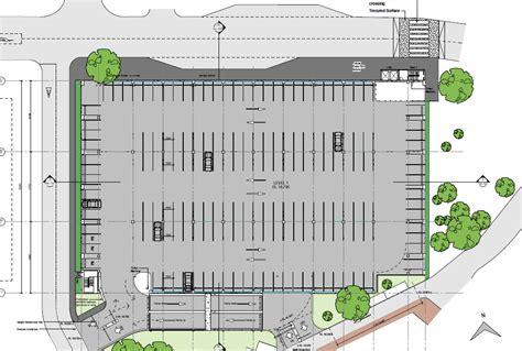 Building And Parking Lot Design Template   Calendar