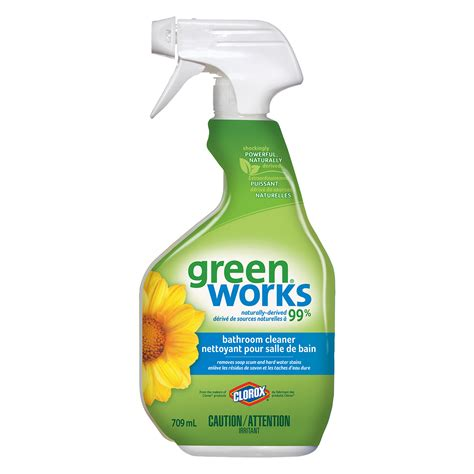Clorox Green Works Bathroom Cleaner by Clorox Green Works Bathroom Cleaner Spray 709 Ml Grand