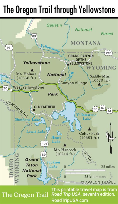 the oregon trail map the oregon trail driving the historic route road trip usa