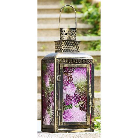 Spi Home Decor | spi pink mosaic lantern large house on the corner home