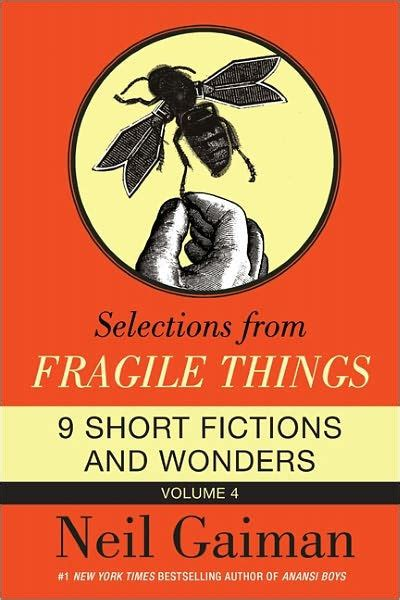 libro fragile things selections from fragile things volume 4 by neil gaiman nook book ebook barnes noble 174