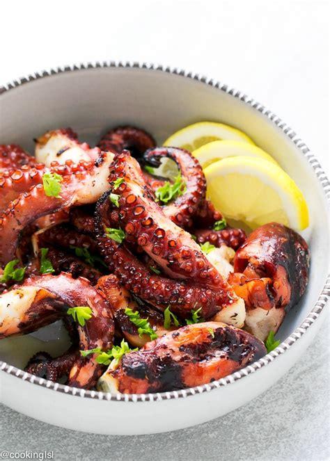 best octopus recipe easy grilled octopus recipe cooking lsl
