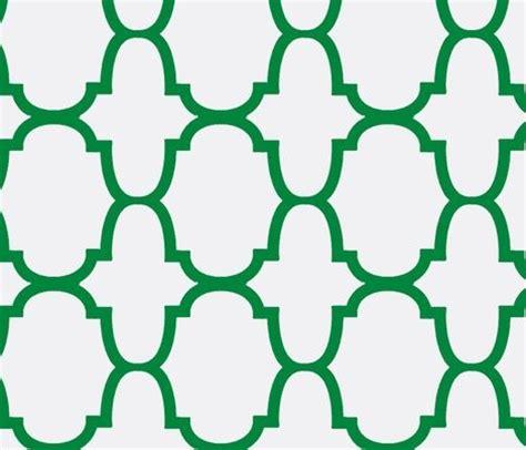 green quatrefoil wallpaper green quatrefoil wallpaper spoonflower with gray