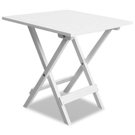 Vidaxl Co Uk Outdoor Coffee Side Table Acacia Wood White