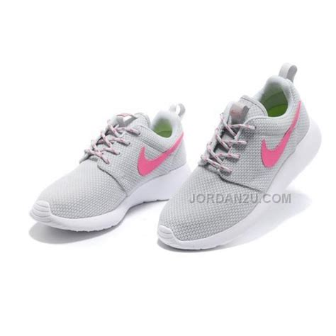nike roshe run womens shoes breathable summer grey price