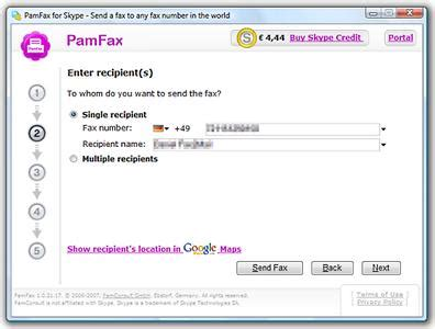 Pamfax F 252 R Skype Einfach Faxe Verschicken Ohne Hardware
