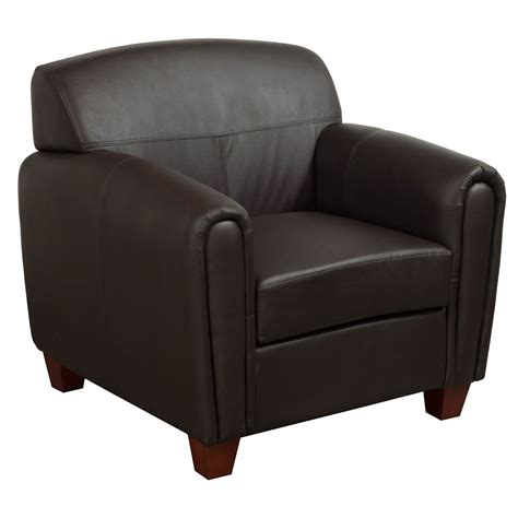 Brown Leather Lounge Chair office products used pu leather lounge chair brown