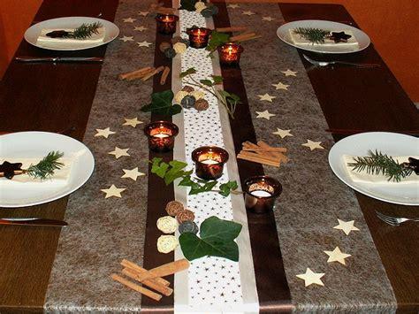 einfache weihnachtstisch dekorationen tischdekoration weihnachten 5 tischdeko weihnachten